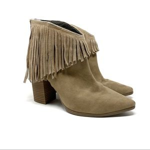 Kenneth Cole | Pull Ashore Fringe Ankle Bootie
